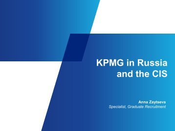 KPMG in Russia and the CIS