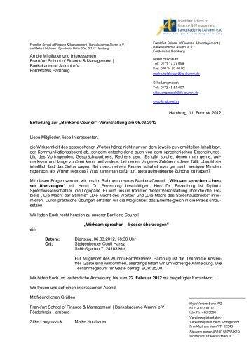 Anlage - Frankfurt School of Finance & Management ...