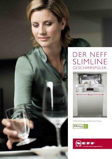 Der Neff Slimline Geschirrspüler - 4