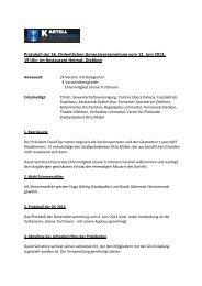 zum Protokoll (PDF) - Kartell der Ortsvereine Dietikon