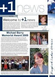 Michael Berry Memorial Award 2009 - English Lakes Blog