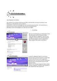 können Sie sich unsere Anleitung zur Webpage ... - Ziitboersa