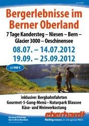 Bern – Glacier 3000 - Kurzurlaub Spezial
