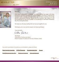 EFCNI Newsletter July 2011
