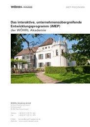 iMEP - WÖHRL Akademie
