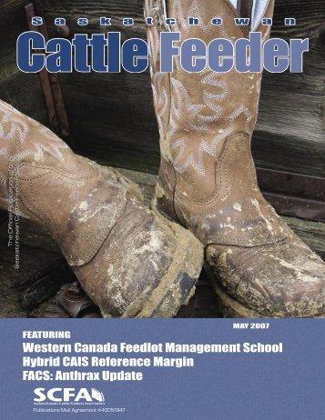 FACS - Saskatchewan Cattle Feeders Association