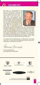 Programm - Internationales Musikfest Goslar - Page 3