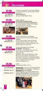 Programm - Internationales Musikfest Goslar - Page 6