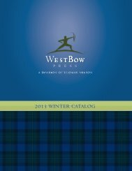 2013 WINTER CATALOG - WestBow Press