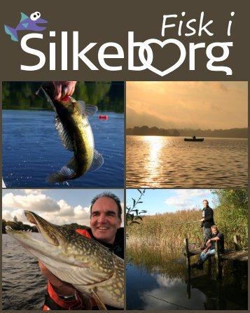 fisketegn & fiskekort fishing & angling fischerei - Silkeborg.com