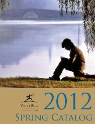 Spring Catalog - WestBow Press