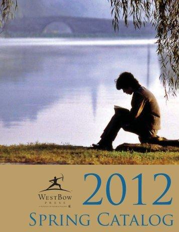 Spring Catalog - WestBow Press