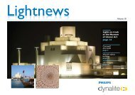 Lightnews Vol 10.pdf - Philips Lighting Controls