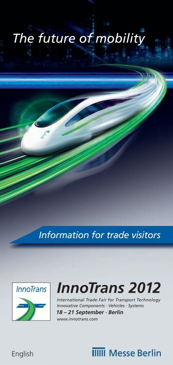 InnoTrans 2012