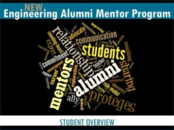 Engineering Alumni Mentor Program