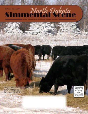 NDSS - February 2008 - North Dakota Simmental Association