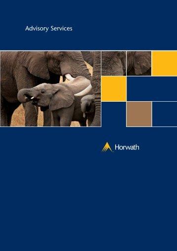 2592 Horwath Brochures - Crowe Horwath International