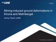 Kiruna and Malmberget