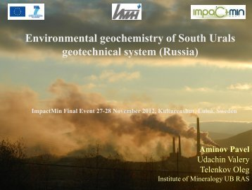 geotechnical system (Russia)