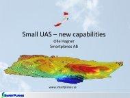 Small UAS – new capabilities