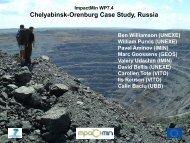 Chelyabinsk-Orenburg Case Study Russia