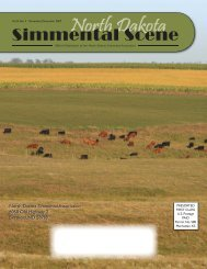 NDSS - November-December 2007 - North Dakota Simmental ...