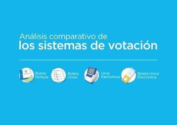 los sistemas de votación