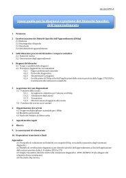 Linee di indirizzo per la diagnosi e il trattamento dei DSA - Agenzia ...