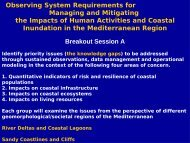 Observing System Requirements for Managing and Mitigating the ...