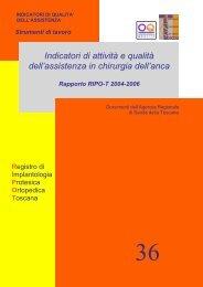 Pubblicazione - Agenzia Regionale di Sanità della Toscana