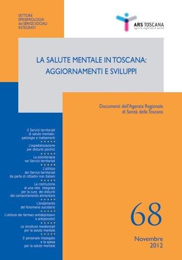 La salute mentale in Toscana aggiornamenti e sviluppi