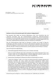 Rechtsterrorismus als Herausforderung für die Frankfurter ...