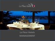 Management Solutions - La Fleur Hotels