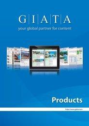 GIATA Products 2012 (English)