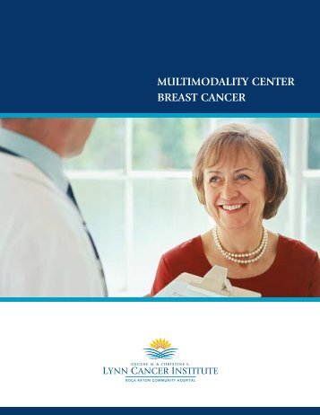 MULTIMODALITY CENTER BREAST CANCER