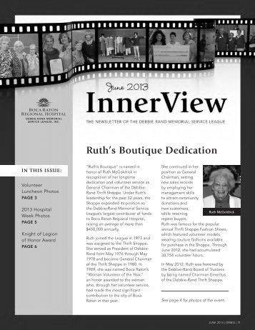 Ruth's Boutique Dedication