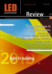www.led-professional.com The technology of tomorrow for ... - Beriled