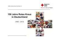 150 Jahre Rotes Kreuz in Deutschland