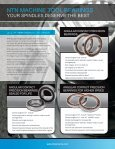 PRECISION MACHINE TOOL BEARINGS A POWERFUL COMBINATION BY DESIGN - Page 2
