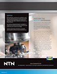 PRECISION MACHINE TOOL BEARINGS A POWERFUL COMBINATION BY DESIGN - Page 4