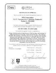 ISO-9001 - NTN Bearing