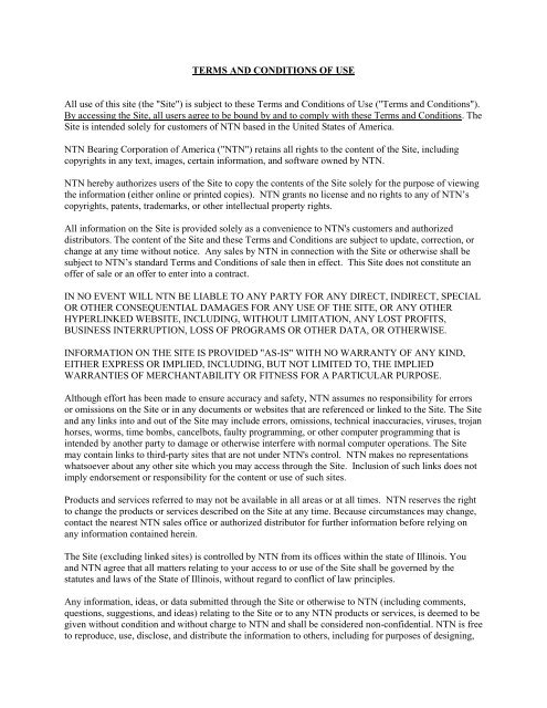 Download PDF - NTN Bearing