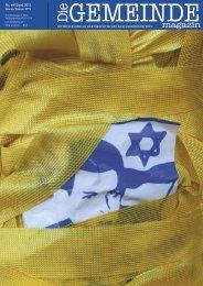 politik • israel - Israelitische Kultusgemeinde Wien