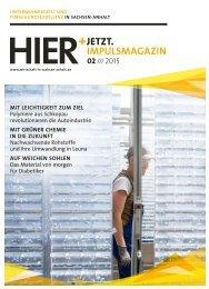 HIER+JETZT. Impulsmagazin // Ausgabe 02/2015