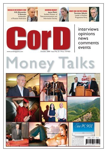 towards a safe and supportive environment for ... - CorD magazine