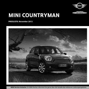 Preise Mini Countryman