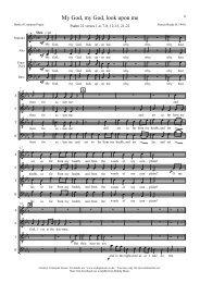 My God, my God, look upon me - Roding Music