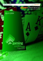 GAMING MONEY CONFERENCE 2011 1