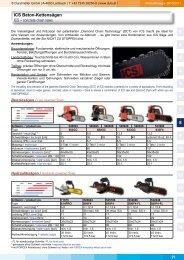 ICS Beton-Kettensägen 1 2 3 4 5 6 7 8 9 10 11 12 13 14 15 16