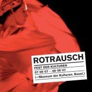 Brochure de programme (pdf) - Museum der Kulturen